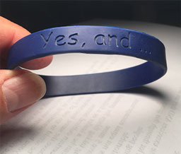 """Yes, and..."" Bracelet"